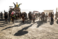 """Opening Parade"" - Burning Man, Black Rock City, Nevada"